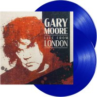 Gary Moore -Live From London Blue Transparent