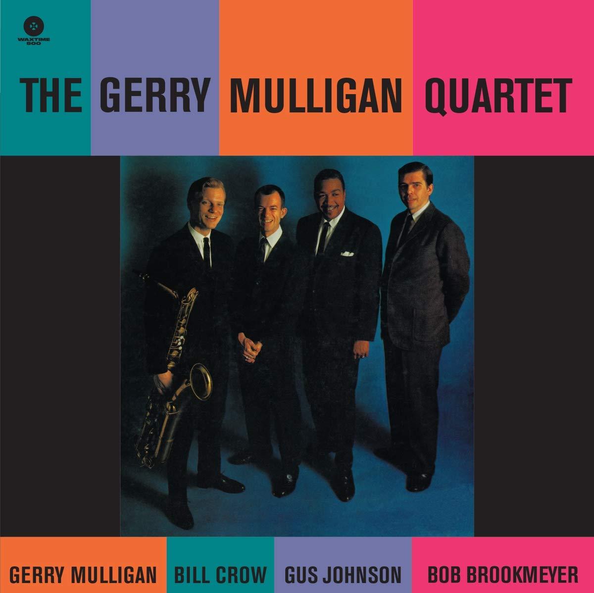 Gerry Quartet Mulligan - Gerry Mulligan Quartet Ft Bob Brookmeyer/bill Crow/gus Johnson Dmm