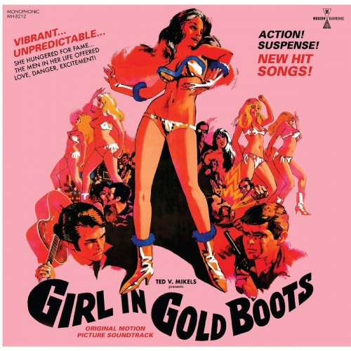 Girl In Gold Boots  /  Original Motion Picture - Girl In Gold Boots Original Motion Picture Soundtrack