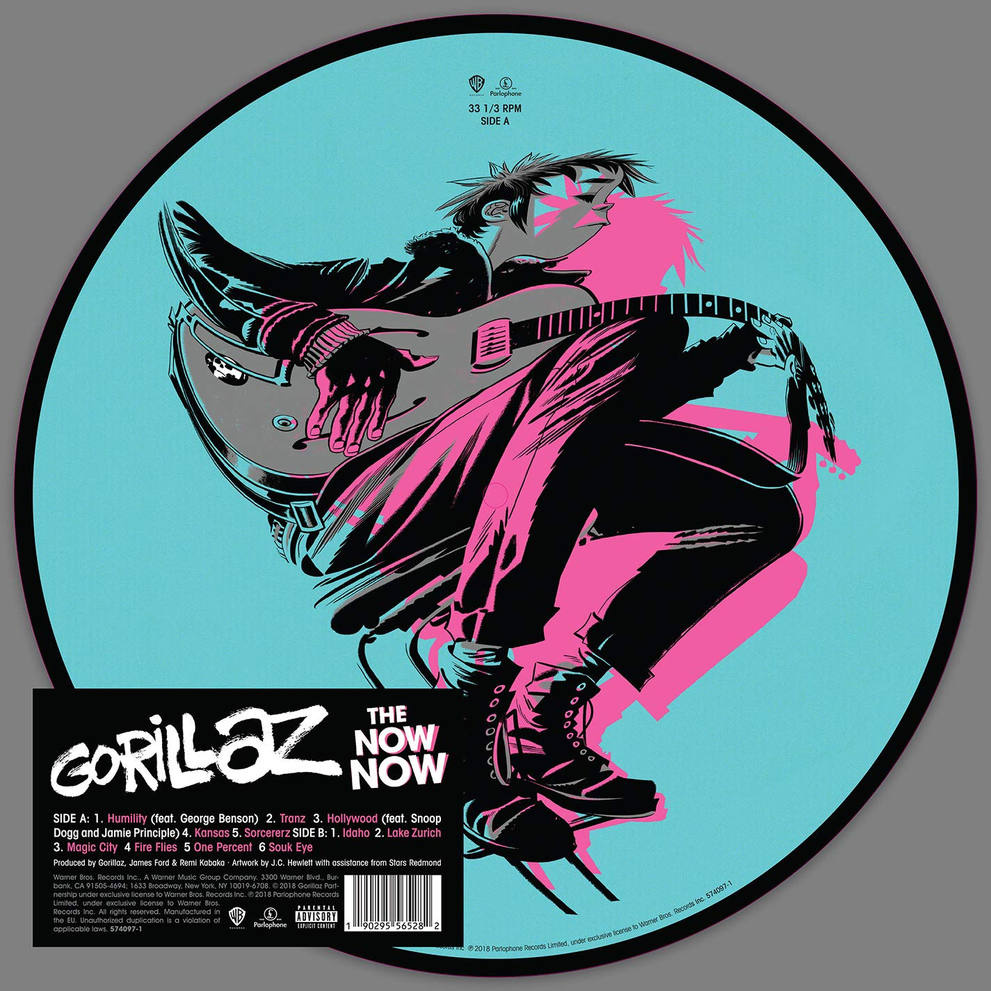 Gorillaz - The Now Now Picture