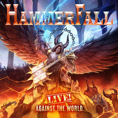 Hammerfall - Live! Against The World (Orange vinyl)