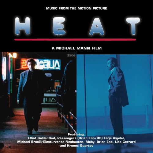 Heat - Music From The Motion Picture -Heat - Music From The Motion Picture Transparent Cool Blue
