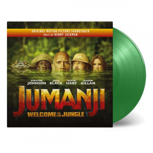 Henry Jackman - Jumanji: Welcome To The Jungle / Soundtrack.