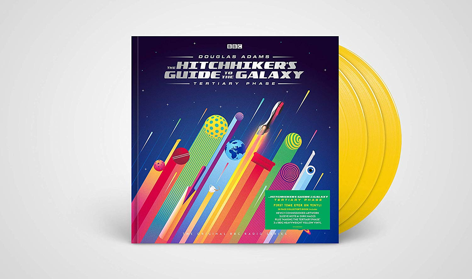 Hitchhikers Guide To The Galaxy: Tertiary Phase - Hitchhikers Guide To The Galaxy: Tertiary Phase Original Soundtrack