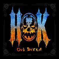 Hok - Out Breed Blue/orange Splatter