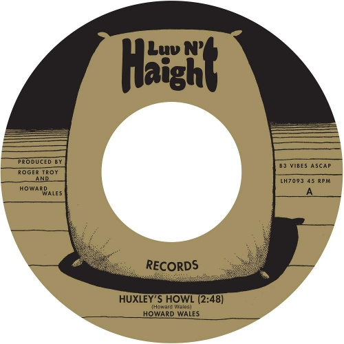 Howard Wales - Huxley's Howl / My Blues