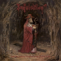 Inquisition - Into The Infernal Regions Of The Ancient Cult Ltd. Ed. Gold & Red Marble .