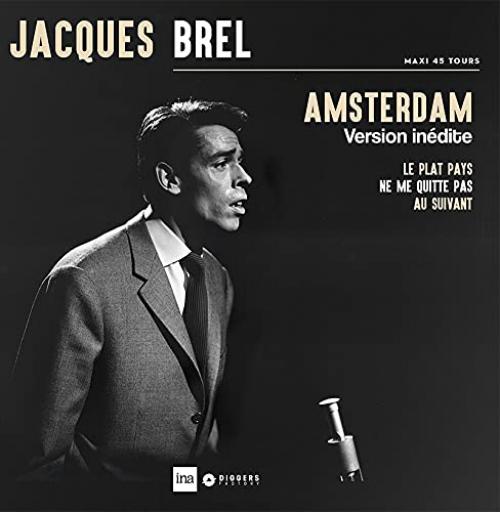 Jacques Brel -Amsterdam
