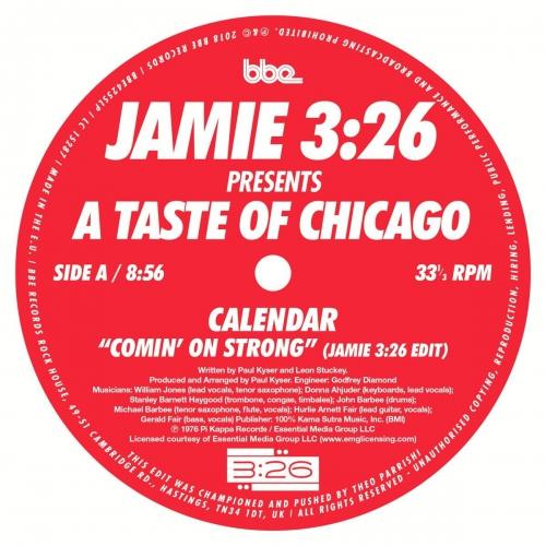 Jamie 3:26 - Presents A Taste Of Chicago Sampler