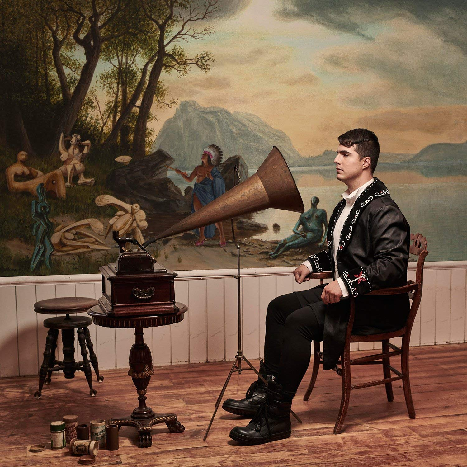 Jeremy Dutcher - Wolastoqiyik Lintuwakonawa Purple/blue Splatter