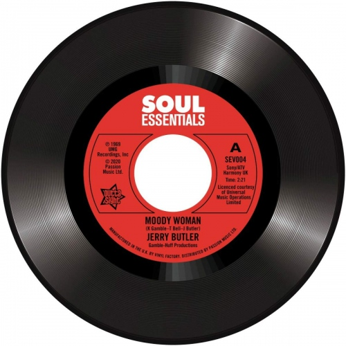 Jerry Butler -Moody Woman / Stop Steppin' On My Dreams