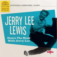 Jerry Lee Lewis -Down The Road With Jerry Lee (Cyan blue vinyl)