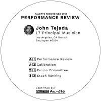 John Tejada -Performance Review