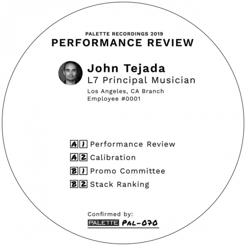 John Tejada - Performance Review