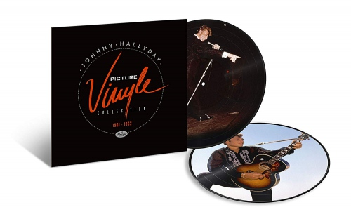 Johnny Hallyday - Picture Vinyle 1961-1962
