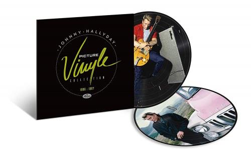 Johnny Hallyday - Picture Vinyle 1986-1987
