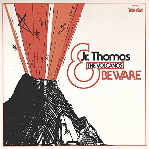 Jr. Thomas  &  The Volcanos - Beware (Transparent orange vinyl)