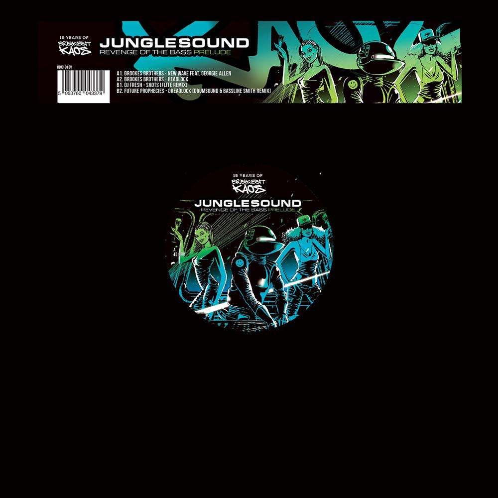 Junglesound: The Revenge Of The Bass Album Sampler - Junglesound: The Revenge Of The Bass Album Sampler / Various