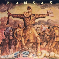 Kansas - Kansas Translucent Gold & Blue Swirl Limited Anniversary Edition