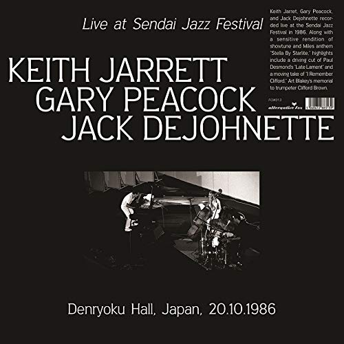 Keith Jarrett - Live At Sendai Jazz Festival, Denryoku Hall, Japan