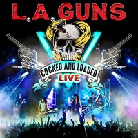 L.A. Guns - Cocked & Loaded Live (Red vinyl)