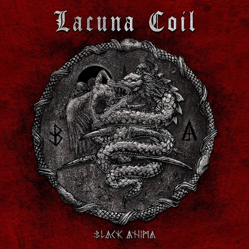 Lacuna Coil - Black Anima Opaque Ten Bands One Cause