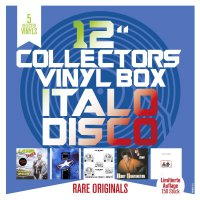 "Laserdance - 12""""Collector's Vinyl Box: Italo Disco"