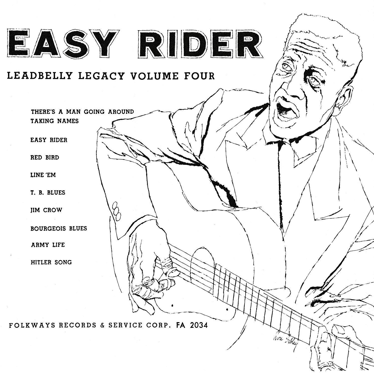 Lead Belly - Easy Rider