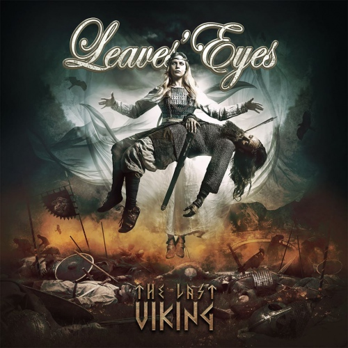 Leaves Eyes -The Last Viking (Hazy orange vinyl)