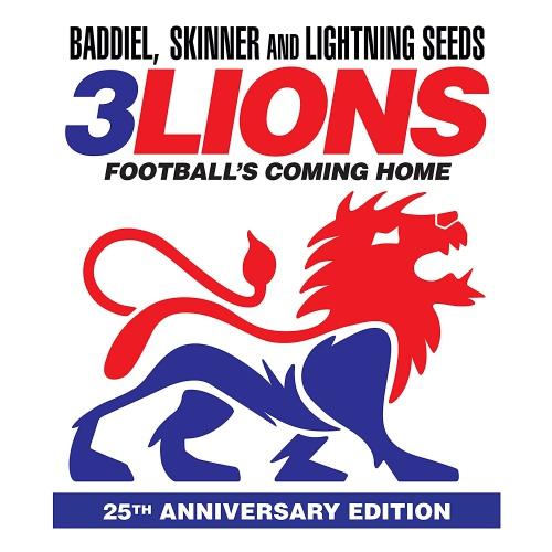 Lightning Seeds -Three Lions 96/98 (Red vinyl)