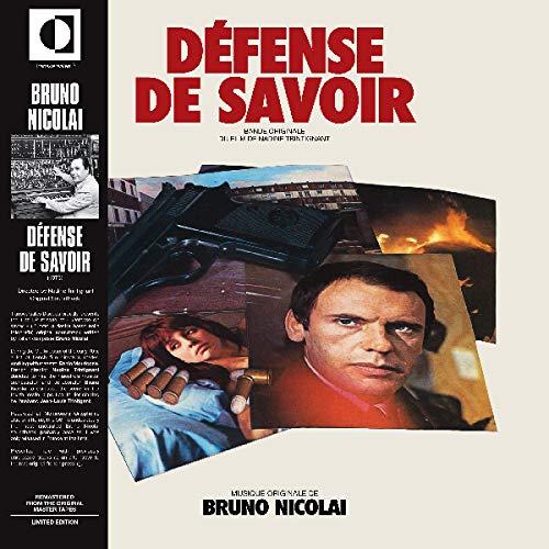 Luc Ferrari -Defense De Savoir Original Soundtrack