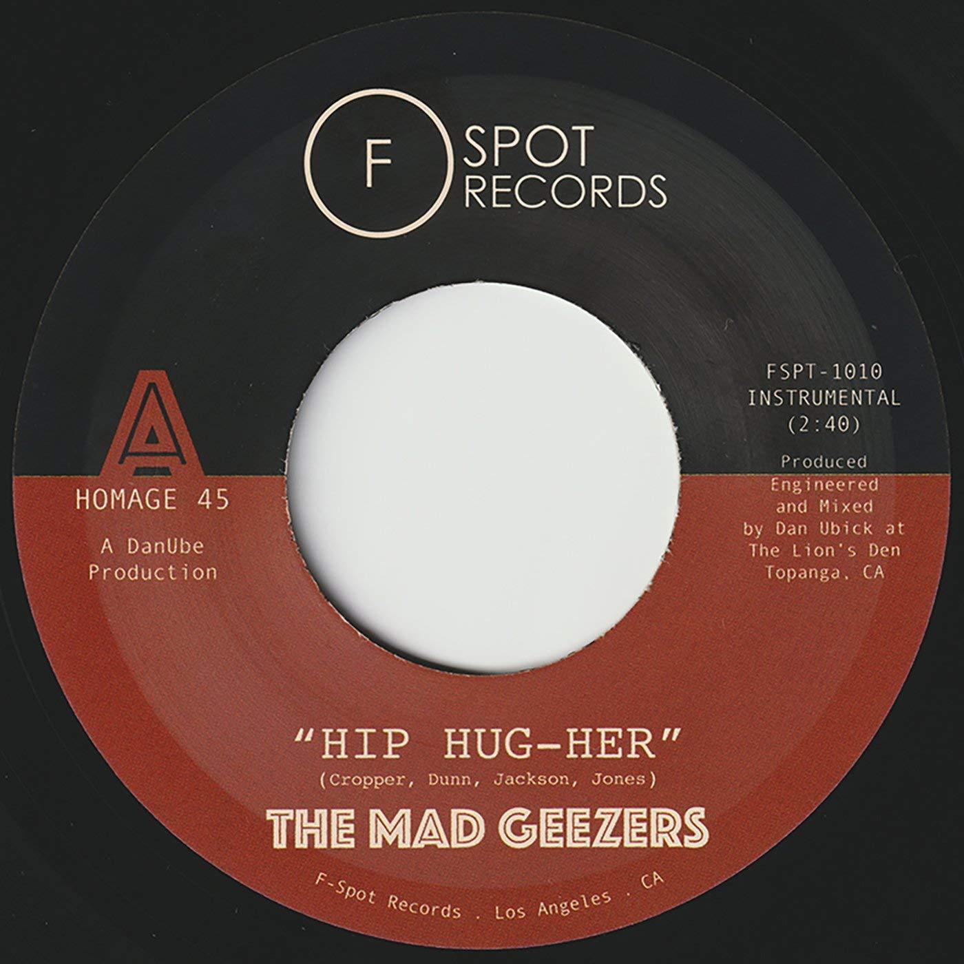 Mad Geezers - Hip-Hug-Her / Girl Of My Dreams