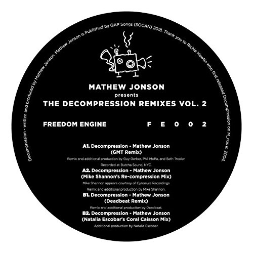 Mathew Jonson - Mathew Jonson Presents The Decompression Remixes Vol.2