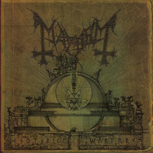 Mayhem - Esoteric Warfare Ltd. Ed Gold