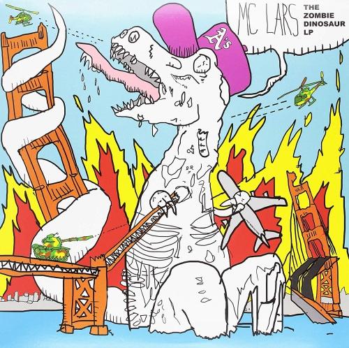 Mc Lars - The Zombie Dinosaur Clear Blue