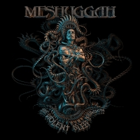 Meshuggah - The Violent Sleep Of Reason Grey/black Splatter