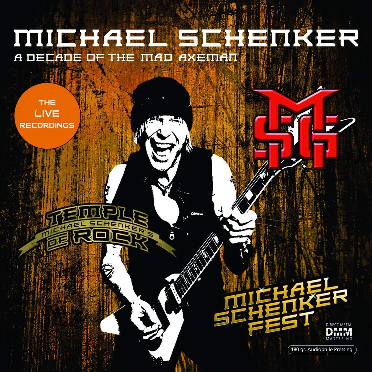 Michael Schenker - Decade Of The Mad Axeman Recordings
