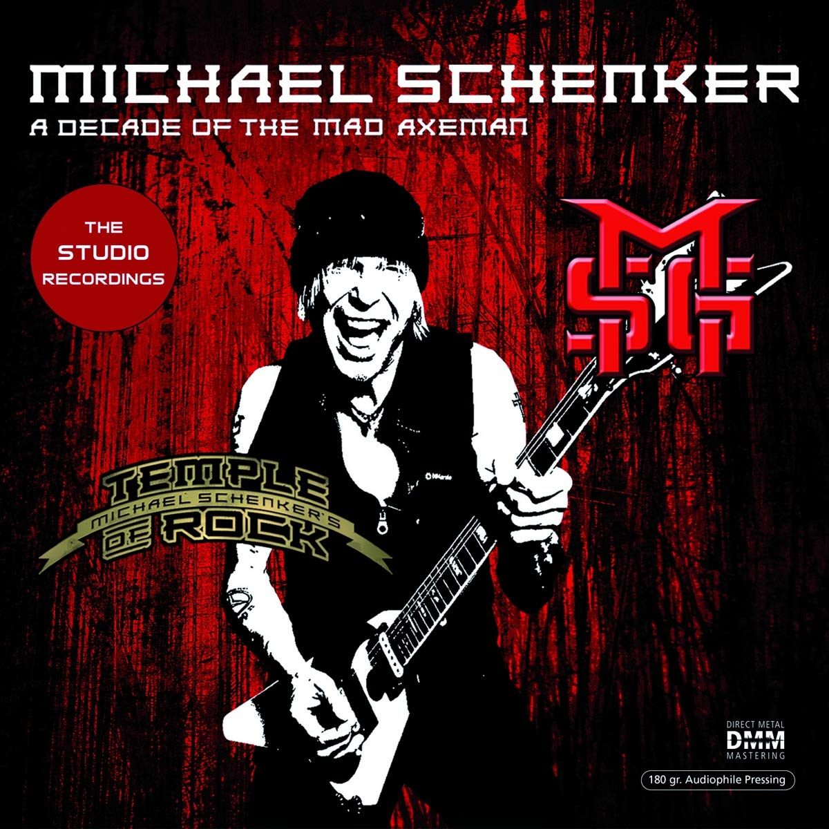 Michael Schenker - Decade Of The Mad Axeman The Studio Recordings