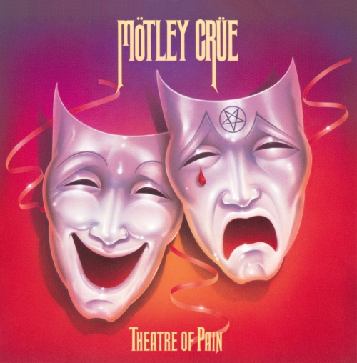 Motley Crue - Theatre Of Pain Translucent Orange