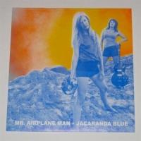 Mr Airplane Man - Jacaranda Blue