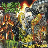 Municipal Waste - The Last Rager Yellow/blue Splatter