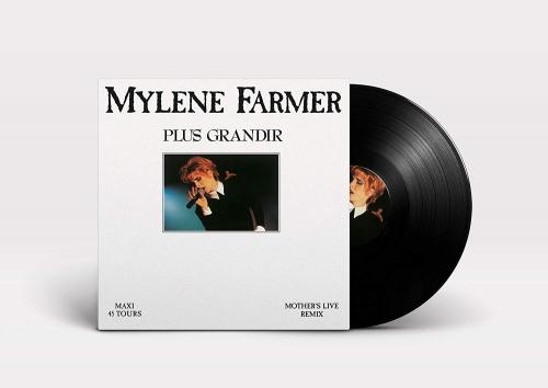 Mylene Farmer Plus Grandir Upcoming Vinyl September 7