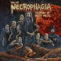 Necrophagia - Here Lies Necrophagia: 35 Years Of Death Metal