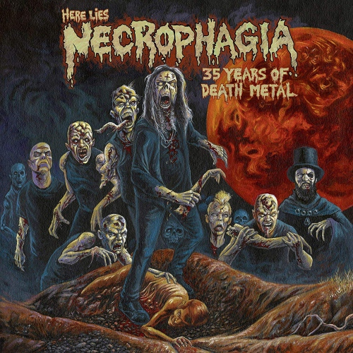 Necrophagia - Here Lies Necrophagia: 35 Years Of Death Metal
