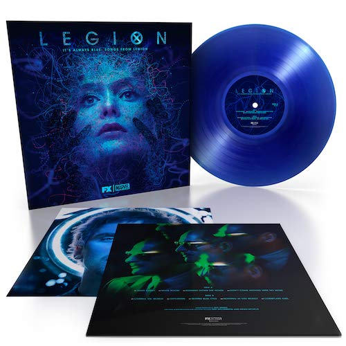 "Noah Hawley & Jeff Russo - It?s Always Blue: Songs From Legion ""transparent """