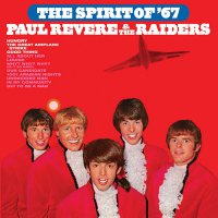 Paul Revere & The Raiders - The Spirit Of '67 Red White & Blue Swirl Audiophile