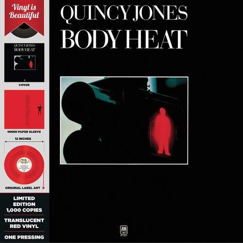 Quincy Jones - Body Heat Red Translucent