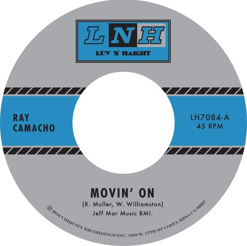 Ray Camacho - Movin' On / Si Si Puede