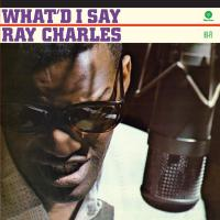 Ray Charles -What I'd Say 2 Bonus Tracks/limited Solid Individual Stickers