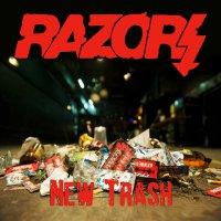 Razors -New Trash - Red Vinyl